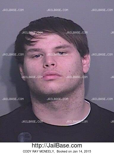 CODY RAY MCNEELY mugshot picture