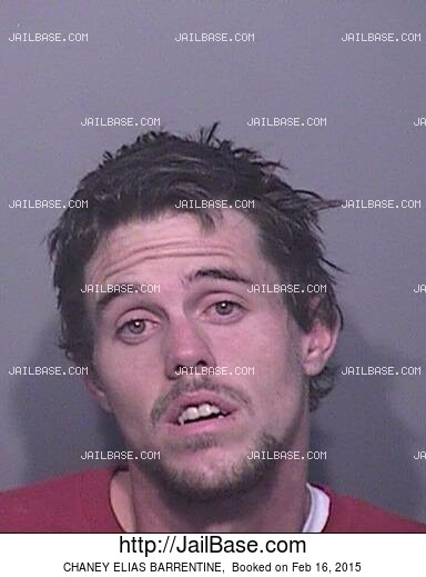 CHANEY ELIAS BARRENTINE mugshot picture