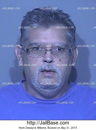 HANK DEWAYNE WILLIAMS mugshot picture