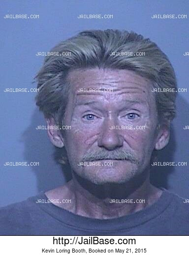 KEVIN LORING BOOTH mugshot picture