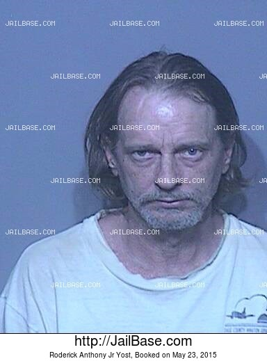 RODERICK ANTHONY JR YOST mugshot picture