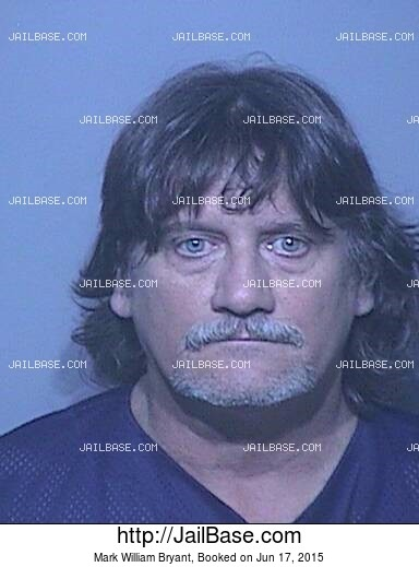 MARK WILLIAM BRYANT mugshot picture