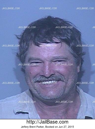 JEFFERY BRENT PARKER mugshot picture