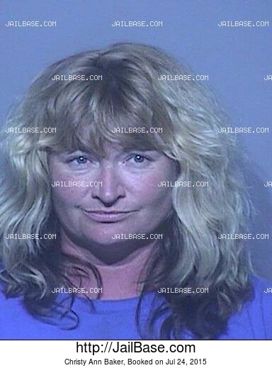 CHRISTY ANN BAKER mugshot picture