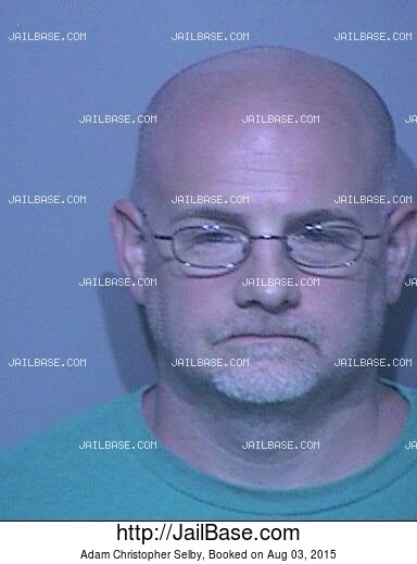 ADAM CHRISTOPHER SELBY mugshot picture