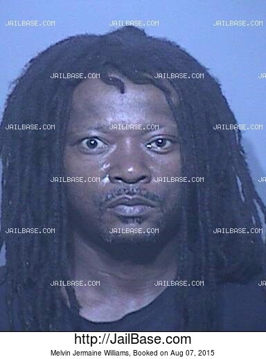 MELVIN JERMAINE WILLIAMS mugshot picture