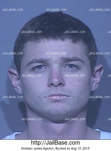 KHRISTIAN JAMES AGERTON mugshot picture