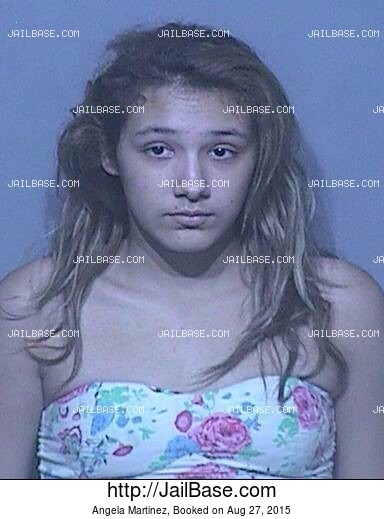 ANGELA MARTINEZ mugshot picture