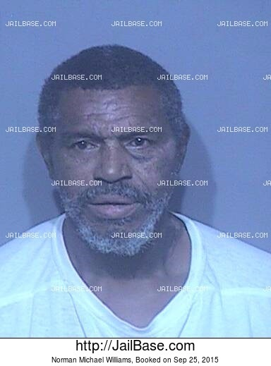 NORMAN MICHAEL WILLIAMS mugshot picture