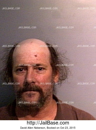 DAVID ALLEN NICKERSON mugshot picture