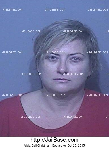 ALICIA GAIL CHRISTMAN mugshot picture