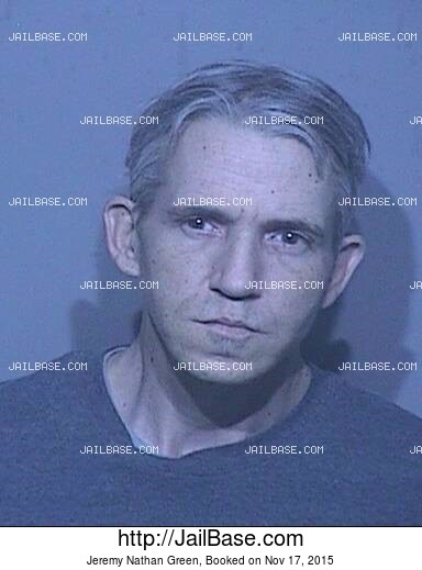 JEREMY NATHAN GREEN mugshot picture