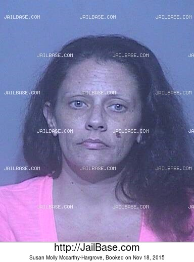 SUSAN MOLLY MCCARTHY-HARGROVE mugshot picture