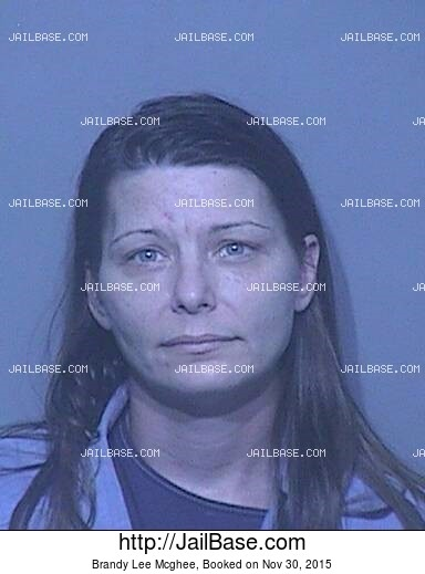 BRANDY LEE MCGHEE mugshot picture