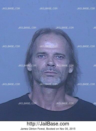 JAMES CLINTON FOREST mugshot picture