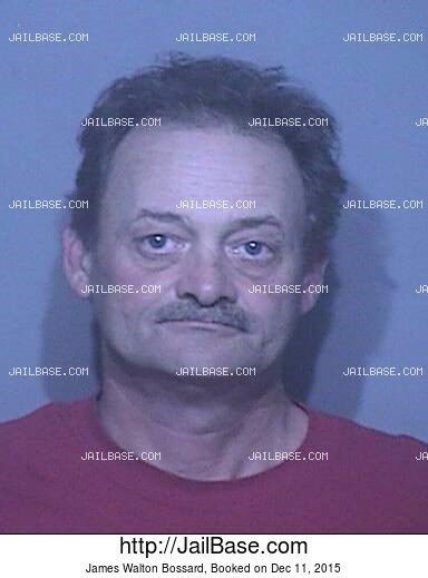 JAMES WALTON BOSSARD mugshot picture
