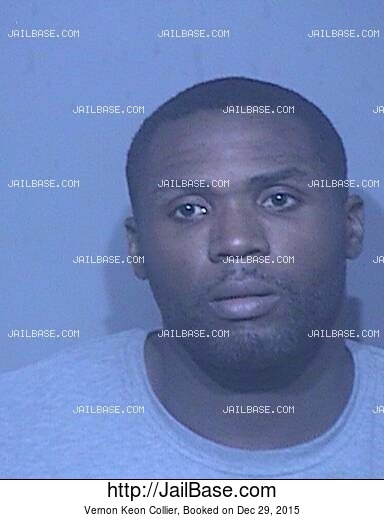 VERNON KEON COLLIER mugshot picture