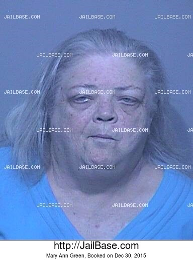 MARY ANN GREEN mugshot picture