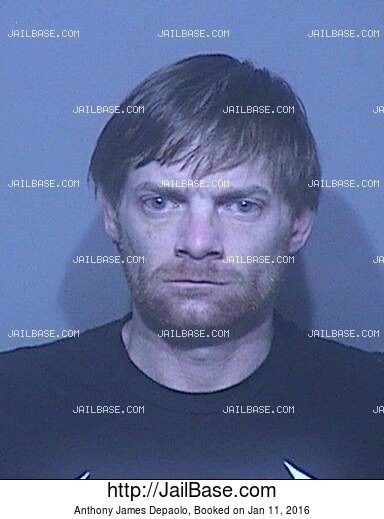 ANTHONY JAMES DEPAOLO mugshot picture