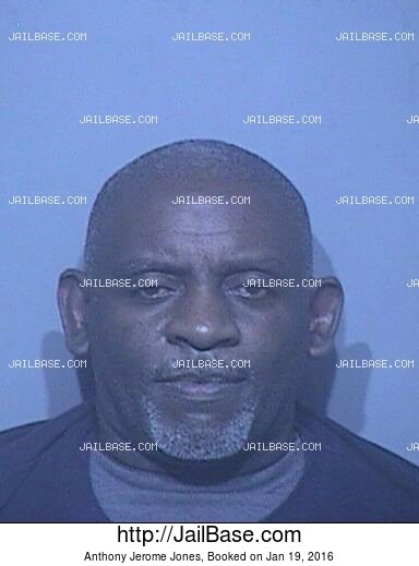 ANTHONY JEROME JONES mugshot picture