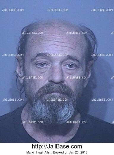 MARVIN HUGH ALLEN mugshot picture