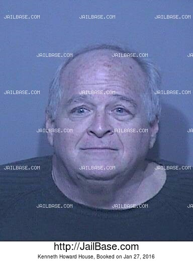 KENNETH HOWARD HOUSE mugshot picture