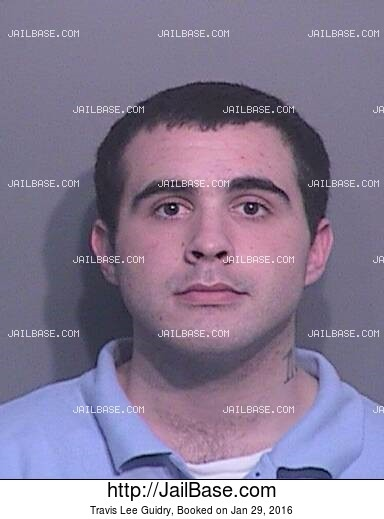 TRAVIS LEE GUIDRY mugshot picture