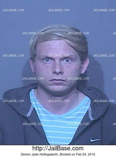 DAMON JADE HOLLINGSWORTH mugshot picture