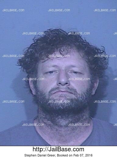 STEPHEN DANIEL GREER mugshot picture
