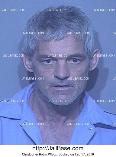 CHRISTOPHER ROBIN WILCOX mugshot picture