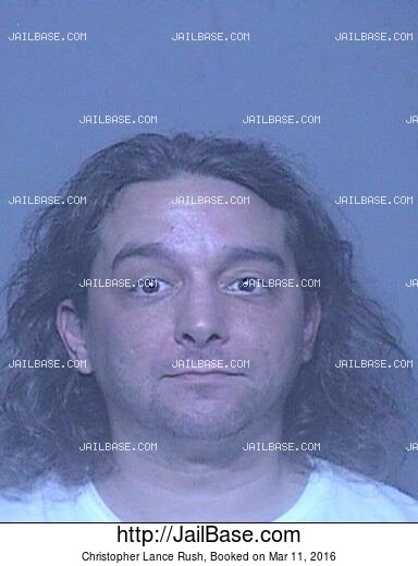 CHRISTOPHER LANCE RUSH mugshot picture