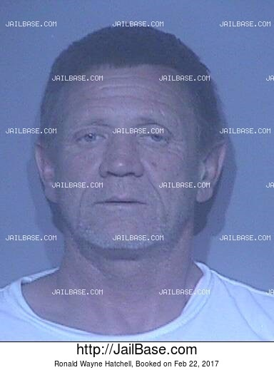 RONALD WAYNE HATCHELL mugshot picture