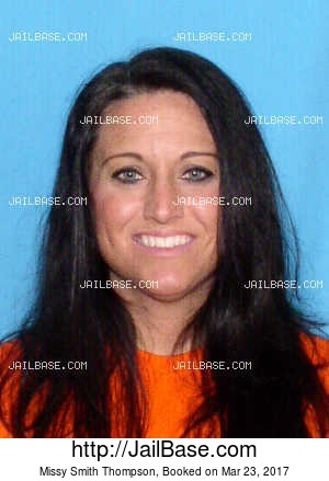 MISSY SMITH THOMPSON mugshot picture