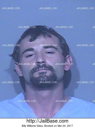 BILLY WILLIAMS SIKES mugshot picture