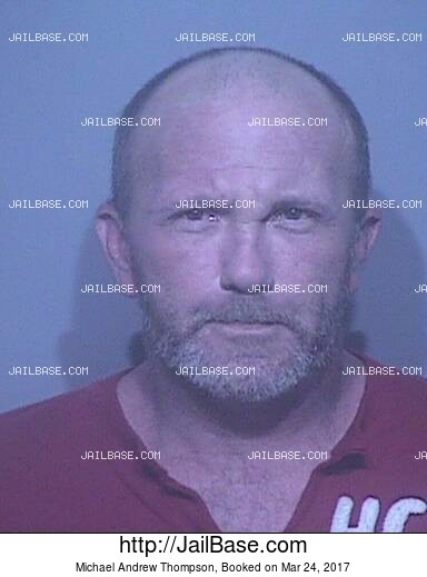 MICHAEL ANDREW THOMPSON mugshot picture