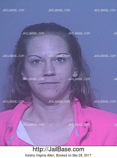 KEISHA VIRGINIA ALLEN mugshot picture