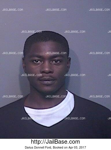 DARIUS DONNELL FORD mugshot picture