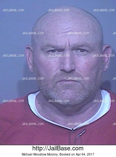MICHAEL WOODROW MCCRORY mugshot picture