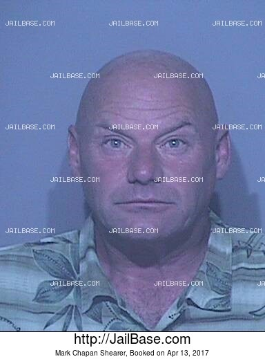 MARK CHAPAN SHEARER mugshot picture