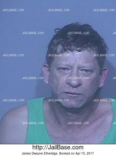 JAMES DWAYNE ETHERIDGE mugshot picture