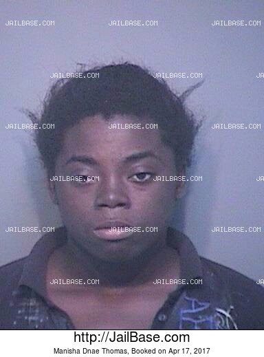 MANISHA DNAE THOMAS mugshot picture