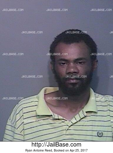 RYAN ANTOINE REED mugshot picture