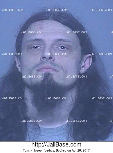 TOMMY JOSEPH VEDROS mugshot picture