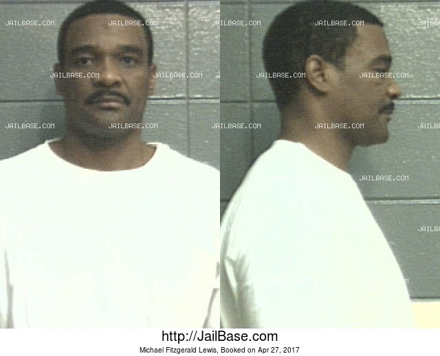MICHAEL FITZGERALD LEWIS mugshot picture