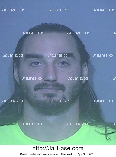DUSTIN WILLIAMS FREDERICKSEN mugshot picture