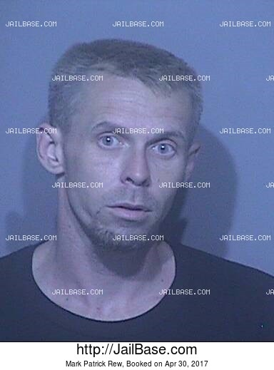 MARK PATRICK REW mugshot picture