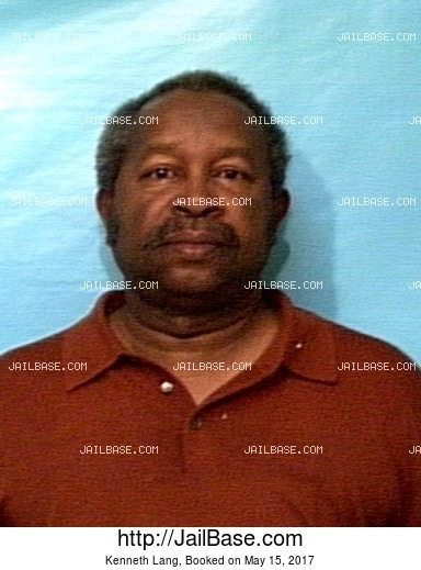 KENNETH LANG mugshot picture