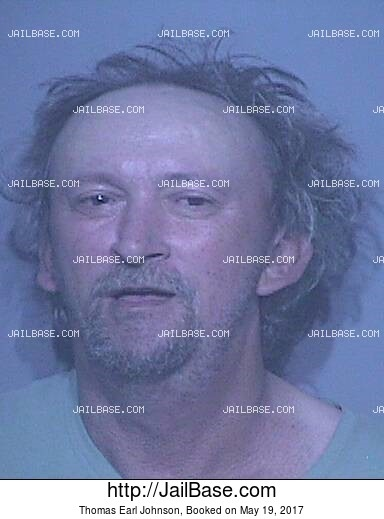 THOMAS EARL JOHNSON mugshot picture