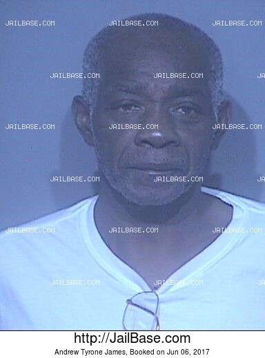 ANDREW TYRONE JAMES mugshot picture