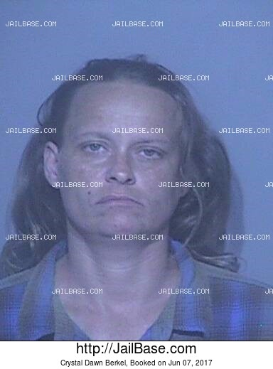 CRYSTAL DAWN BERKEL mugshot picture